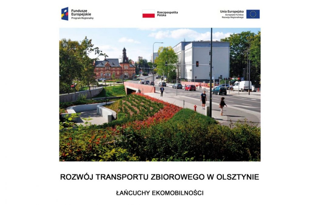 Broszura informacyjna – Rozwój transportu zbiorowego w Olsztynie