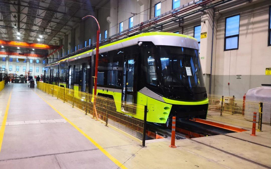 Została ukończona produkcja pierwszego tramwaju
