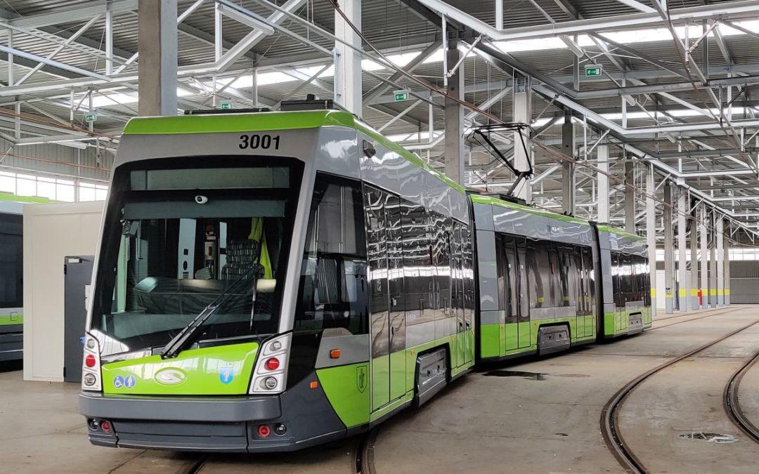 Następny tramwaj już w Olsztynie